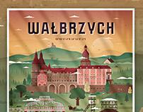 WAŁBRZYCH - City Map Poster
