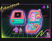 Into the Cyberspace Playset 掌上賽博網路空間
