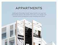 Appartments: mobile design