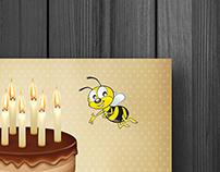 Cartão de Aniversário - Lojas Salfer