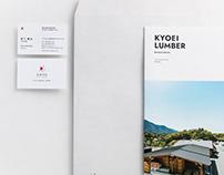 KYOEI LUMBER 共栄木材 | Branding identity project