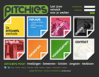 Pitchies brand, website, app design