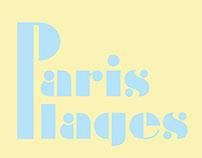 Paris Plages 2013 - Identité visuelle