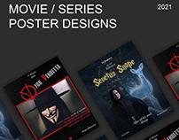 Poster Desings - Movie/Series