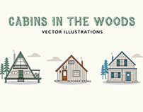 Cabin Vector Illustrations