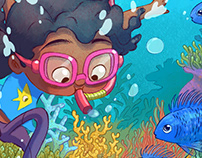 Razia Learns to Swim - StoryWeaver