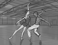 Storyboard Ballet v Breakdance 01