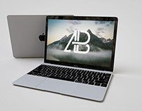 Free Realistic Apple Macbook Mockup  Free Realistic App