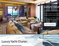 LuxeMode VIP Concerge website