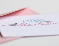 Diseño de invitación de Bautizo