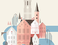 Bruges. Personal Project/Print.