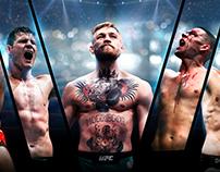 Boxing landing page. UFC
