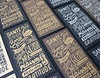 Cartes de voeux Atelier Graphique
