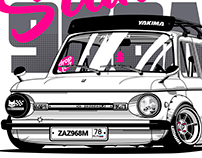 Zaz-968m apparel print project
