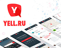 Redesign of Yell.ru