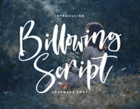 Billowing Script