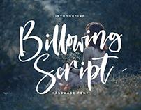 Billowing Script