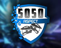 5050 Aspect - A Logo Design Process