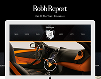 Robb Report - Car of the Year Singapore