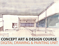 Concept Art Course- Drawing & Painting Unit