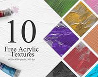 10 Free Acrylic Textures