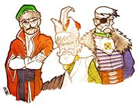 Szlachcic z jego siepaczami - Nobleman with his thugs