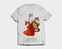 Maine Coon T-shirt design