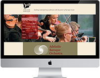 Adelaide Baroque Orchestra Website