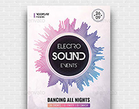 Electro Sound Events Flyer