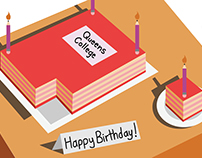 QC Birthday Card for Faculty and Staff