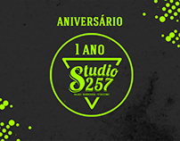 Studio 257 - Aniversário de 1 Ano