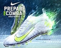 Prepare For Combat Nike Ad Concept