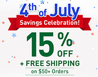 Swanson 4th of July Sale