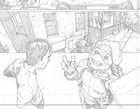 TEENAGE MUTANT NINJA TURTLES (sample pages)