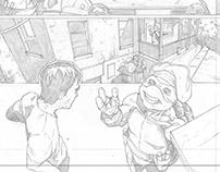 TEENAGE MUTANT NINJA TURTLES (sample pages)