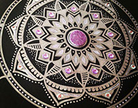 Gemstone Mandala Series #shineonyoudiamond
