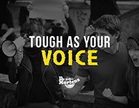Tough as your voice