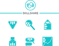Icon Set: Skillshare.com