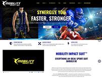 Web design for sportswear