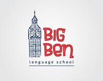 BigBen. Language School. Logo