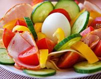 Salat als Ballaststoff