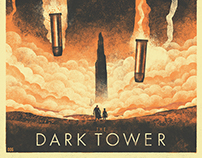 The Dark Tower - Illustrated Movie Poster