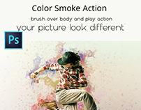 Color Smoke Action  FEATURES: 1 Action File (ATN). 1 Br