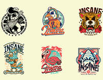 Cartoon Character Logos