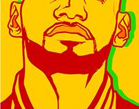 LeBron James NBA FINALS 2015 Cleveland Cavaliers