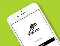 MOVAID Mobile App Interface