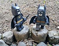 Batman PaperLego - Papertoy Photography