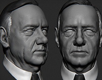 Frank Underwood Sculpt