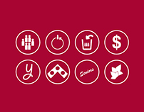 Penn Fund Icon Set