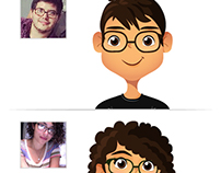 Caricaturas y Personajes (Cartoons and characters)